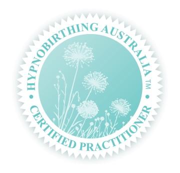 hypnobirthing australia certified practitioner stamp